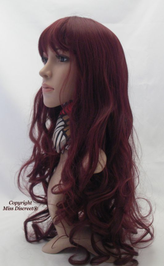 Cherry Red Hair Color Chart Revlon Wig Color Cherry   Dark Brown Hairs